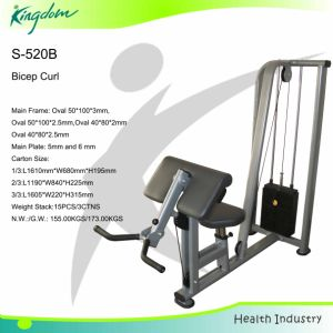 Strength Machine/Fitness Equipment/Body Building/Gym Equipment Bicep pictures & photos