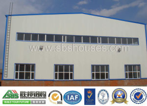Prefabricated Steel Structural Workshop Shed Building pictures & photos