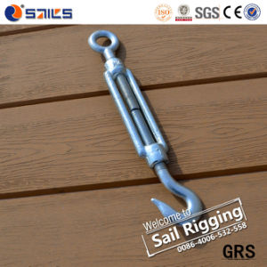 Drop Forged Galvanized DIN1480 Turnbuckle with Hook and Eye pictures & photos