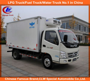 4*2 Foton Mini Frozen Meat Fish Transport Truck pictures & photos