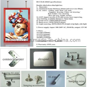 New Style Double Sided Light Box with Low Price pictures & photos