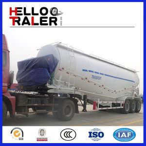 Tri-Axle Trailer Transport Bulk Cement Truck pictures & photos