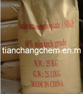 Factory Price Sodium Hexametaphosphate 68%, SHMP pictures & photos
