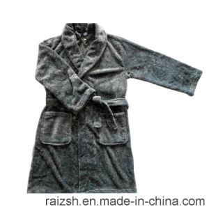 Microsoft Bathrobe with Cationic Dyeing pictures & photos