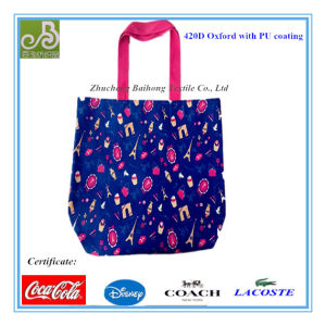 420d Oxford Ladies Shopping Tote Bag