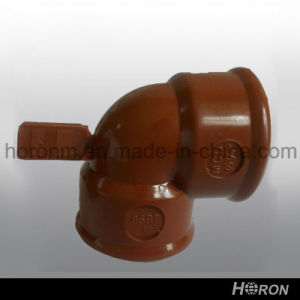 Pph Water Pipe Fitting-Plastic Union-Tee-Elbow-Plug (1′′) pictures & photos
