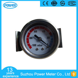 1.5 Inch 40mm Black Steel Case Brass Internal Vacuum Gauge with U-Clamp pictures & photos