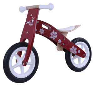 Good Quantity Wooden Balance Bike/ Kids Bike, Birch Plywood Bike pictures & photos