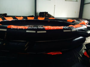 65 Persons Marine Open Reversible Inflatable Liferaft pictures & photos