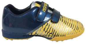 Child Sports Turf Boy Football Soccer Shoes (415-9469) pictures & photos