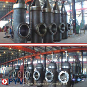 API 6D Wcb Slab Gate Valve with Gear pictures & photos