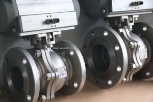 API High Platform Stainless Steel Ball Valve pictures & photos