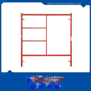 W Style 5′*6′7′′ Walk Thru Scaffold Frames pictures & photos