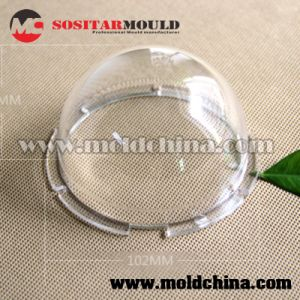Clear Plastic Parts Manufacturer for Optics pictures & photos