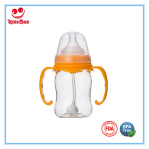 Wide Neck Nursing PPSU Baby Bottle with Food Grade Soother pictures & photos