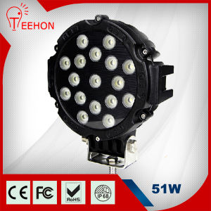 "7"" 51W New Round High Power LED Work Light pictures & photos"