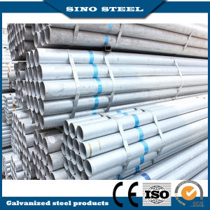 BS1387 Hot Dipped Galvanized Steel Pipe with Cap/Gi Tube pictures & photos