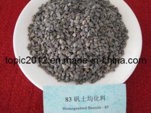 High Density Homogenized Bauxite Al2O3 83%Min