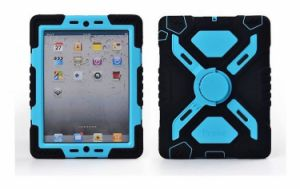 Pepkoo Retina Defender Shock/Water Proof Stand Case Cover for iPad 2/3/4