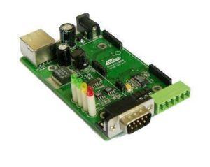 10m/100m TTL Interface Single Serial Port Embedded Module Development Board