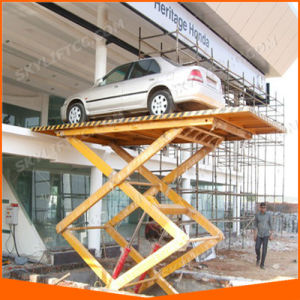 Customized Hydraulic Electric Garage Car Parking Scissor Lift (all size) pictures & photos