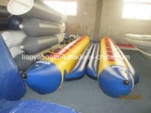 Liya 3.9m Inflatable Banana Dinghy Boats for Sale pictures & photos