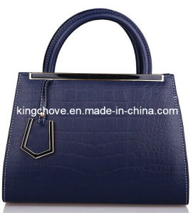 Dark Blue High Quality PU Latest Fashion Ladies Bag (KCH79-03) pictures & photos