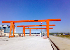 10+10ton Double Hoists Gantry Crane for Handling Materials Mechine pictures & photos