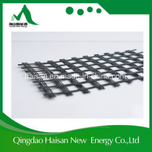 Road Construction Material Fiberglass Asphalt Paved Geogrid Prices pictures & photos