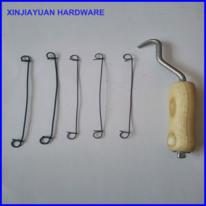 Bag Tie Tool Wooden Handle Wire Twister Hook pictures & photos