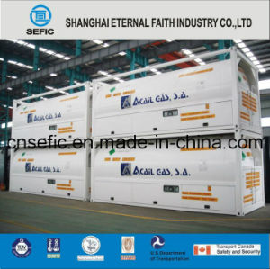 2014 Low Pressure T75 Tank Container for Liquid Gas (ISO-T75-20FT) pictures & photos