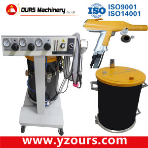 Manual Electrostatic Powder Coating Gun (OURS-908) pictures & photos