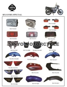 Wholesale Rx115 High Quality Motorcycle Spare Parts pictures & photos