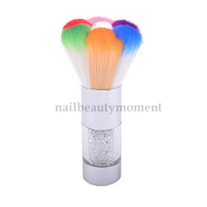Nylon Nail Art Flower Shape Dust Cleaning Brush (B047)