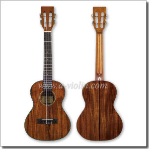 26 Inch Solid Koa Tenor Ukulele (AU501H-26) pictures & photos