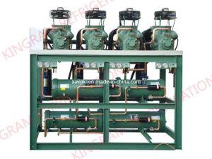 4 Parallel Refrigeration Unit (water-cooling style)