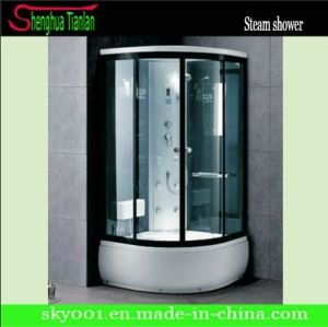 Modular Black Finished Aluminium Alloy Frame Steam Shower Cabinet (TL-8843) pictures & photos