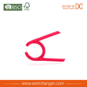 Eisho Clothes Clothing Type Plastic Hanger for Wholesale pictures & photos