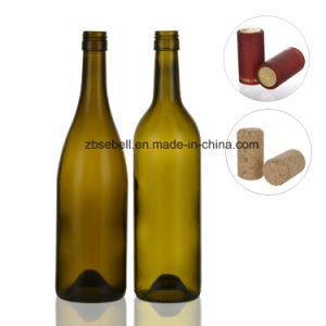 Screwtop Glass Bottles for Red Wine, Grape Wine 750ml pictures & photos