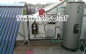 Flat Roof Solar Hot Water System for Household Usage in Indonesia (SFCY-200-20) pictures & photos