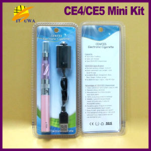 2013 Best Selling Clearomizer CE4 Plus/CE5 1.6ml and EGO T in Blister Package EGO T CE4 Mini Kit, Big Vapor Huge Smoke Hot! !