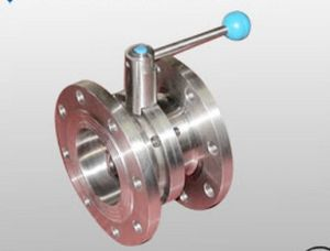 Sanitary Stainless Steel Flanged Butterfly Valve (CF8823)