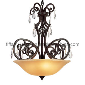 Hot Sell Glass Crystal Pendant Lamp (tr025-3p)