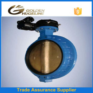 Worm Gear Flanged Connection Butterfly Valve pictures & photos