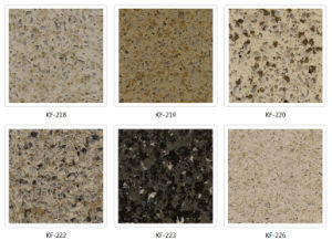 Black Granite Color Quartz Stone Countertop pictures & photos