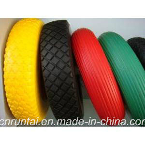 Colorful and Durable PU Rubber Wheel pictures & photos