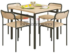 Canteen Furniture Canteen Cafeteria Dining Table & Modern Dining Table pictures & photos
