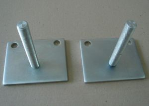 Casting Parts/Stainless Steel Base Plate pictures & photos