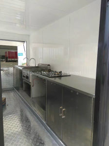 New Modelcooling Conveyor Burger Stall pictures & photos