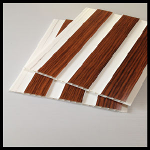 Hot-Stamping Wooden Color PVC Panel for Wall and Ceiling (HN-2508) pictures & photos